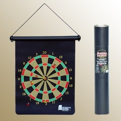 16 Magnetic Double Sided Rolled-Up Dart Game