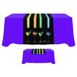 Digital 30 x 72 Table Runner - Standard Poly Fabric