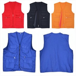 Vests for Volunteers and Outdoor Party Members