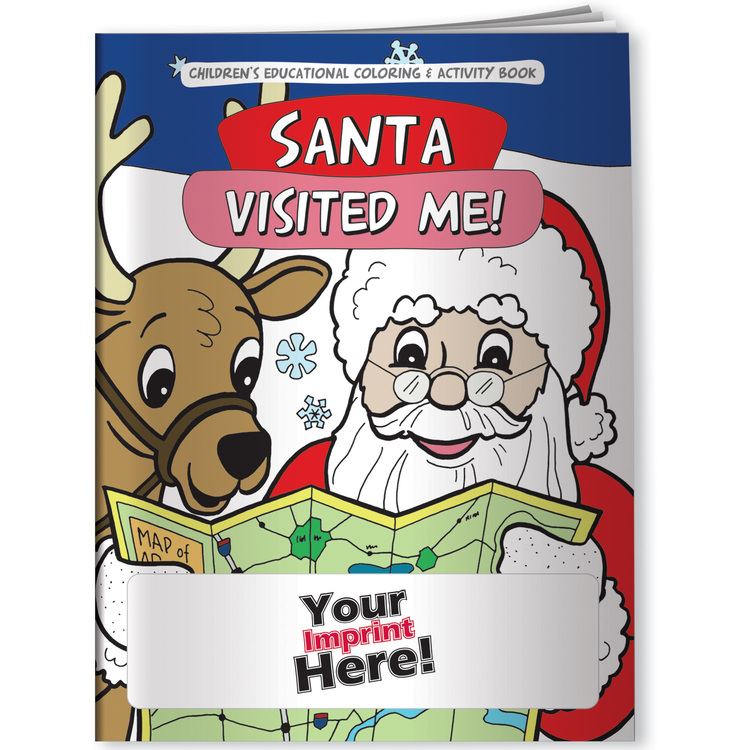 Christmas, Santa Visited Me! - Coloring Book
