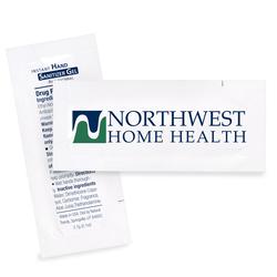Sanitizer Gel Packette, Direct Imprint
