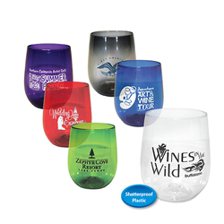 12 oz. Vinello Stemless Wine Glass