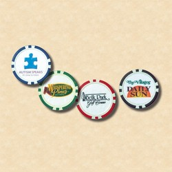 Full Color Two Sides Poker Chip- Uncoated