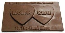 CHOCOLATE MOTHER CARD