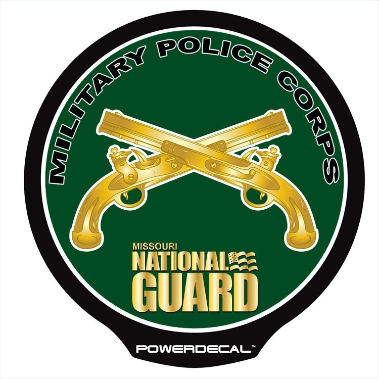 Missouri National Guard - Military Police POWERDECAL™