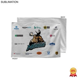 Promo Sublimated Microfiber Rally Towel, 12x18