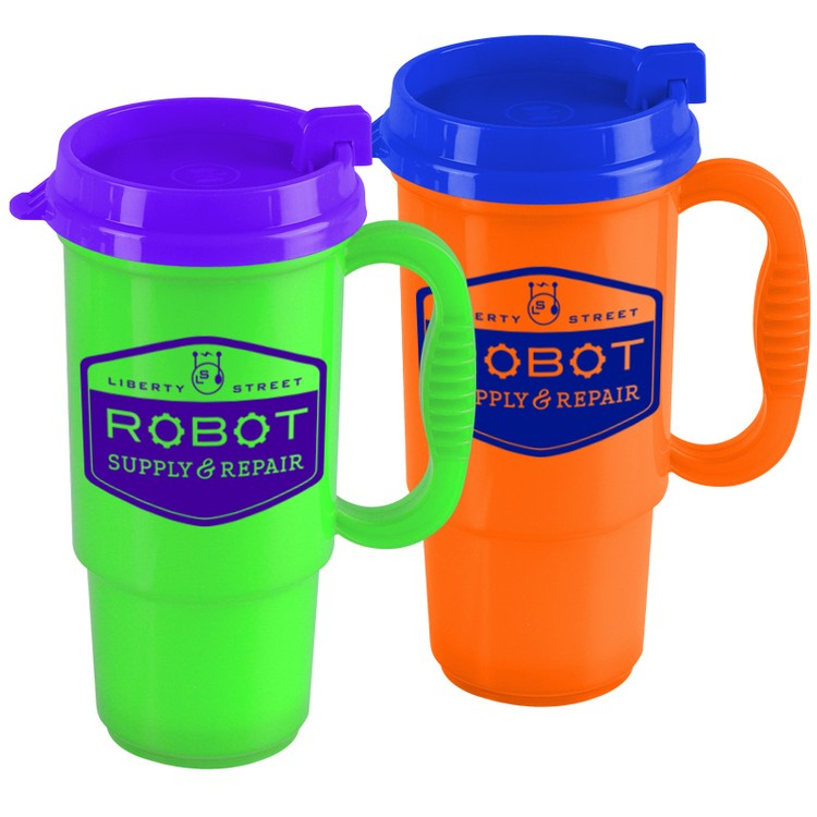 16 oz. Auto Mug - Bright Colors