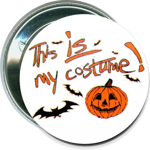 This is my costume, Halloween Button