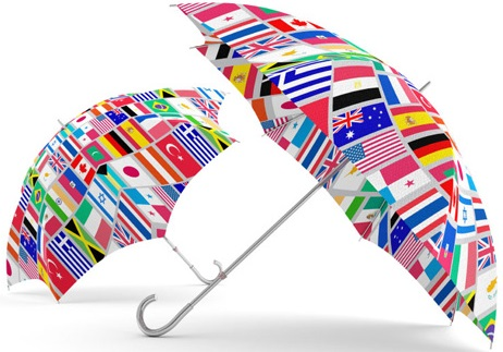 custom umbrellas logo print best seller promotional corporate gifts