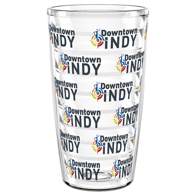 16 oz. Shelby Tumbler with Clear Insert - Full Digital Color Clear Insert Wrap