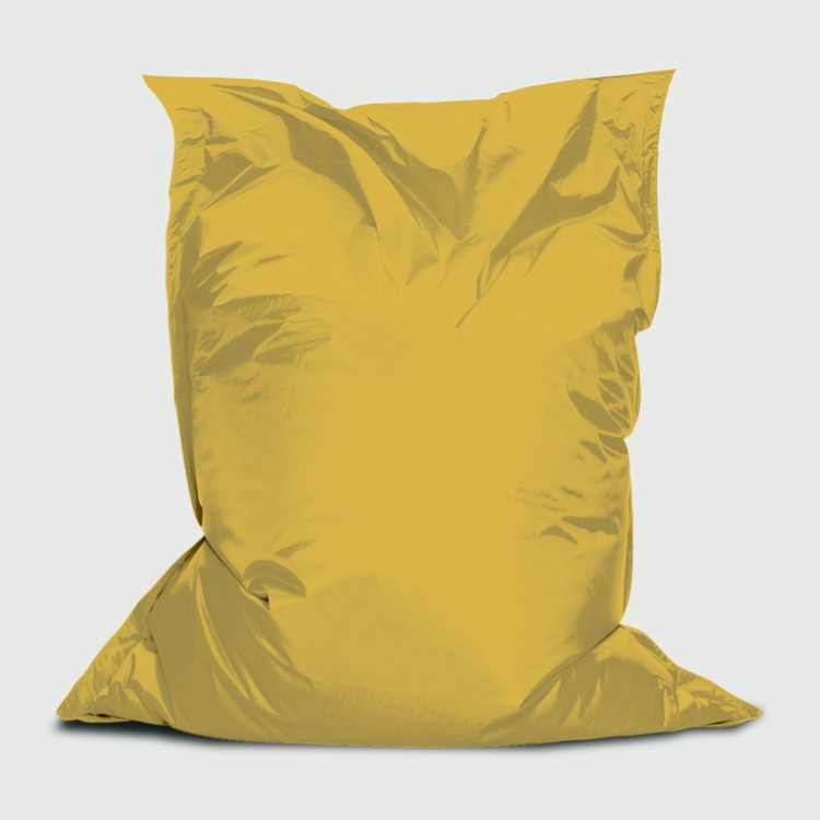 3'W x 4.4'H Branded Bean™, Stock Yellow