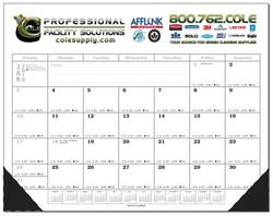 Desk Planner Blotter Calendar - Full Color