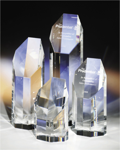 Prestige 5 Optical Crystal Award