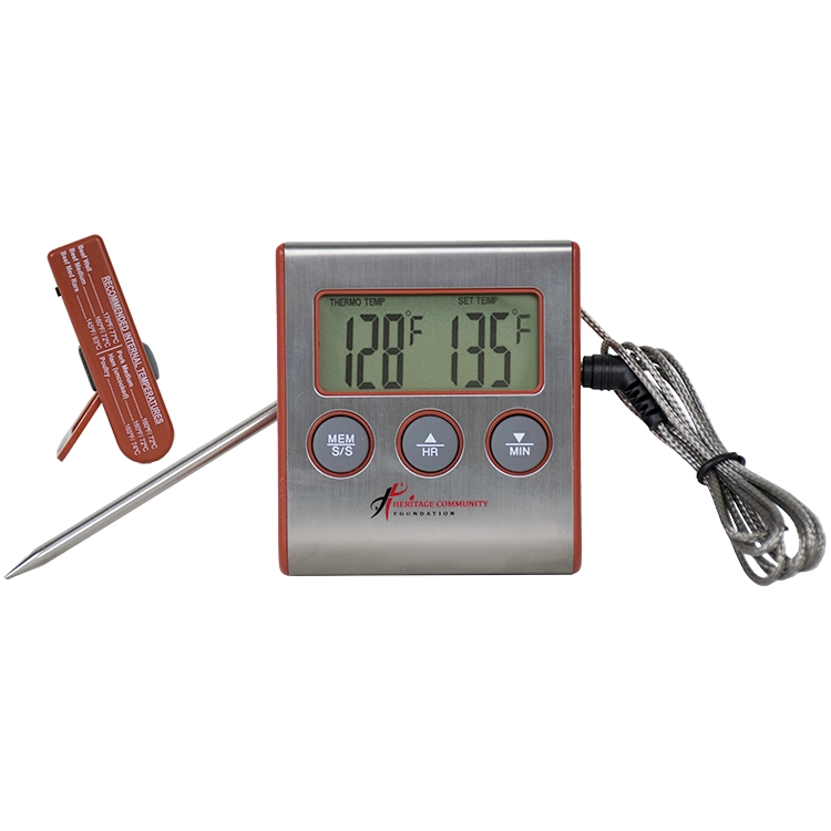 how to use taylor digital thermometer