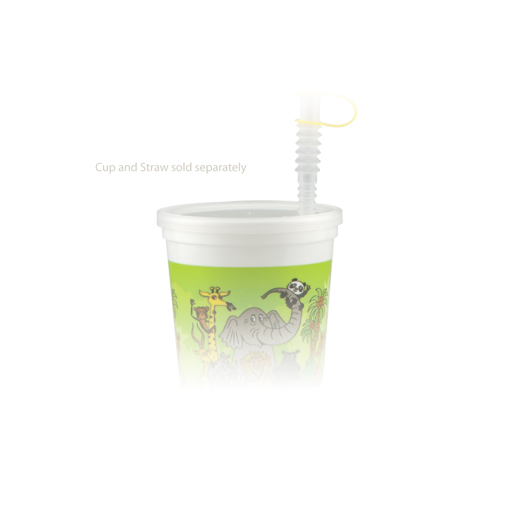 16 oz Stadium Cup Molded Lid - Natural