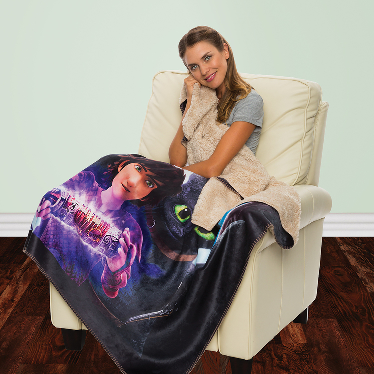 Sherpa Lined Sublimated Throws