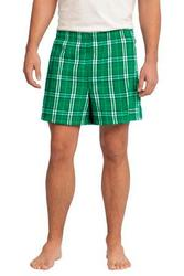 District - Young Mens Flannel Plaid Boxer.