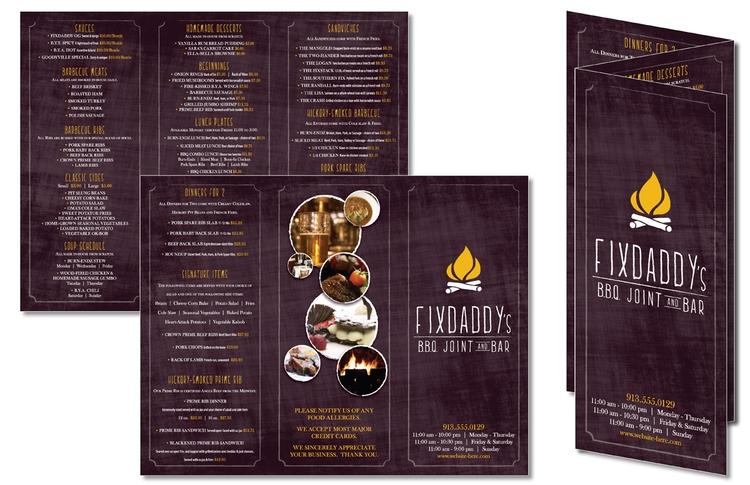 tri fold flyer brochure 11x17 8 pt 5300003c tradenet