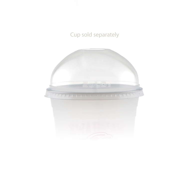 16/24 oz Soft Sided Cup Open Domed Lid - Clear