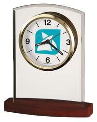 Howard Miller Marcus tabletop clock with Custom Dial