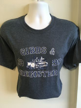 Screen Printing t-shirt for Gibbs and Register