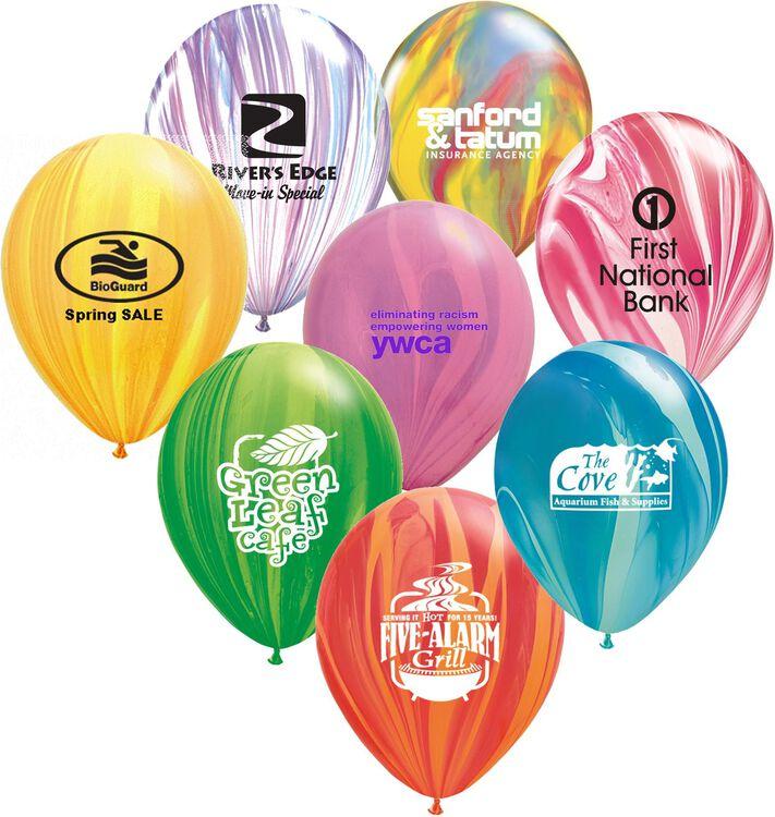 11 SuperAgate Balloons