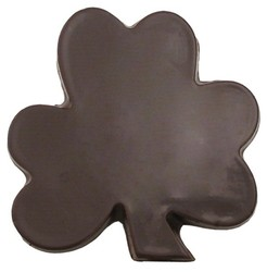 CHOCOLATE SHAMROCK ON A STICK LG FLAT