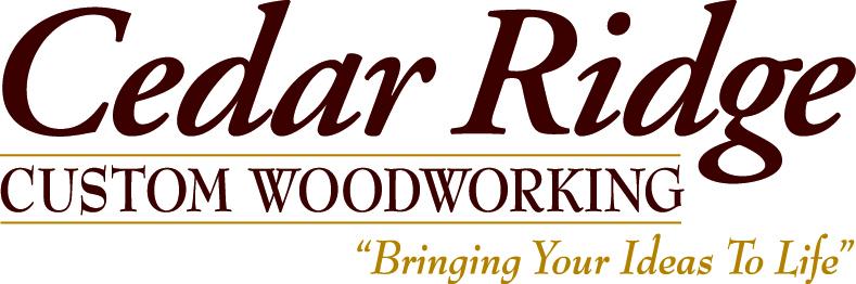 Cedar Ridge Custom Woodworking Logo