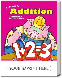 COLORING BOOK - Fun With Addition Coloring & Activity Book - Coloring Book