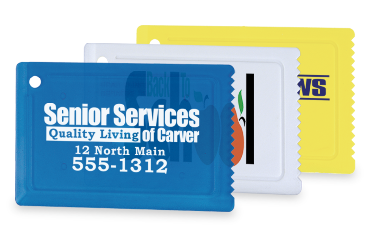 Credit Card Ice Scraper - Automotive Ice Scrapers mailer seasonal