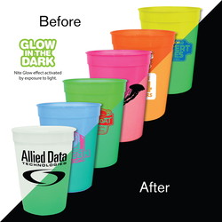 12 oz. Nite-Glow Stadium Cup