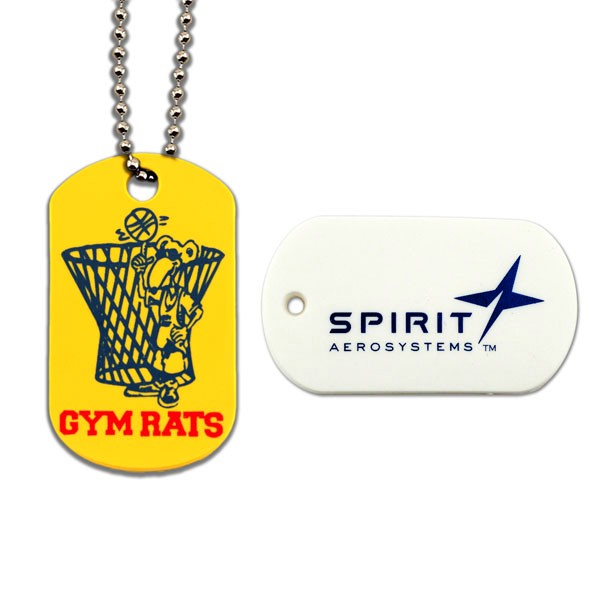 SpectraFlex Non-Toxic PVC Dogtags with Screened Imprint