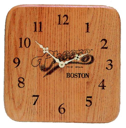 Solid Hardwood Wall Clock - Square - USA