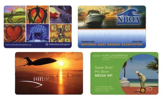 Plastic Cards - 2-1/8 x 3-3/8