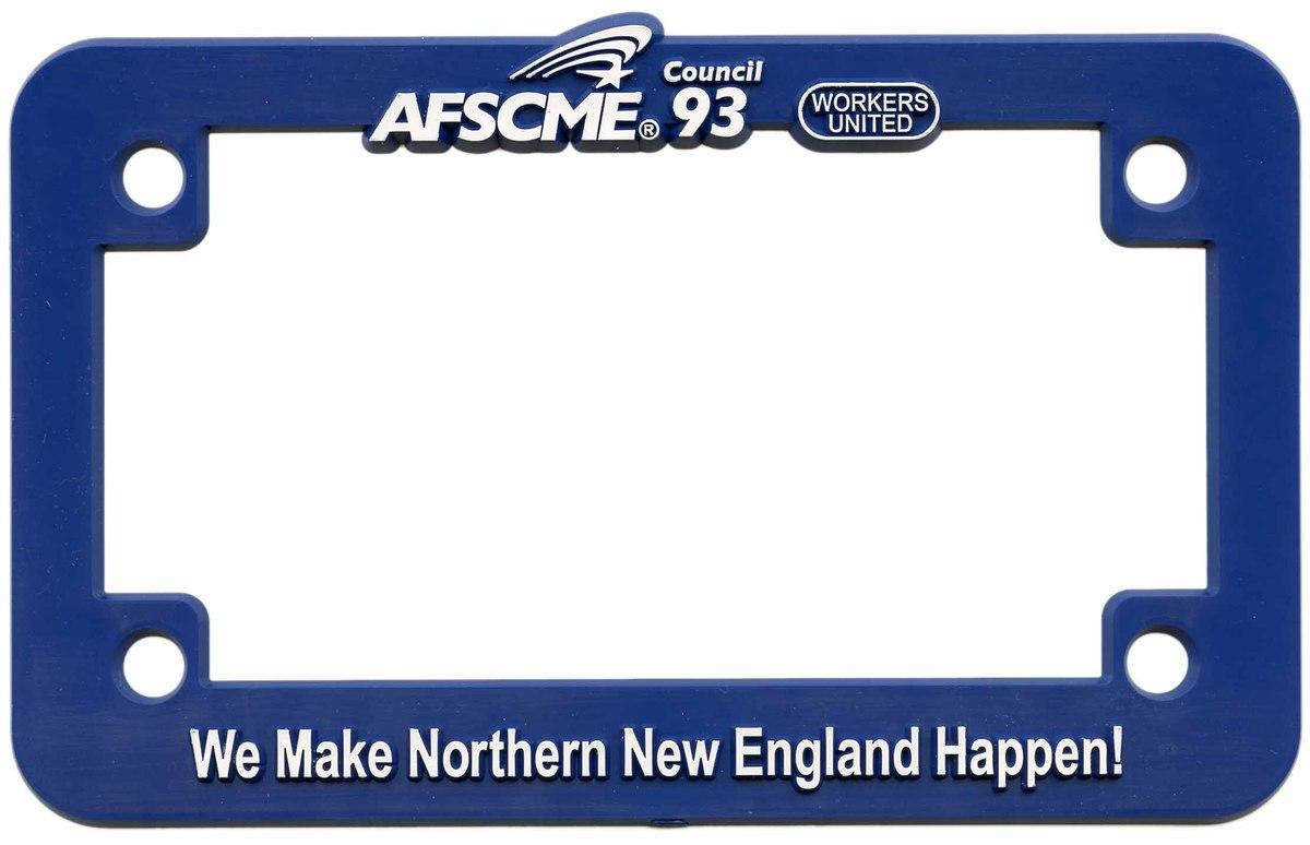 Motorcycle License Plate Frames - MCF-OC | Plan-It Promo