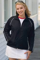 Women's Vansport Microfiber Track Jacket