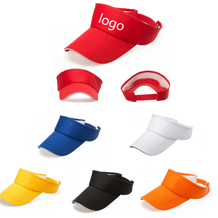 4a5edf86aac Cotton Twill Visor Cap - PZ038