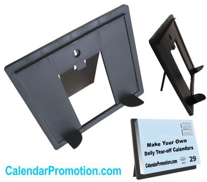 Daily Desk Calendar Stand Base With Easel Cal Bas Lp Marketing