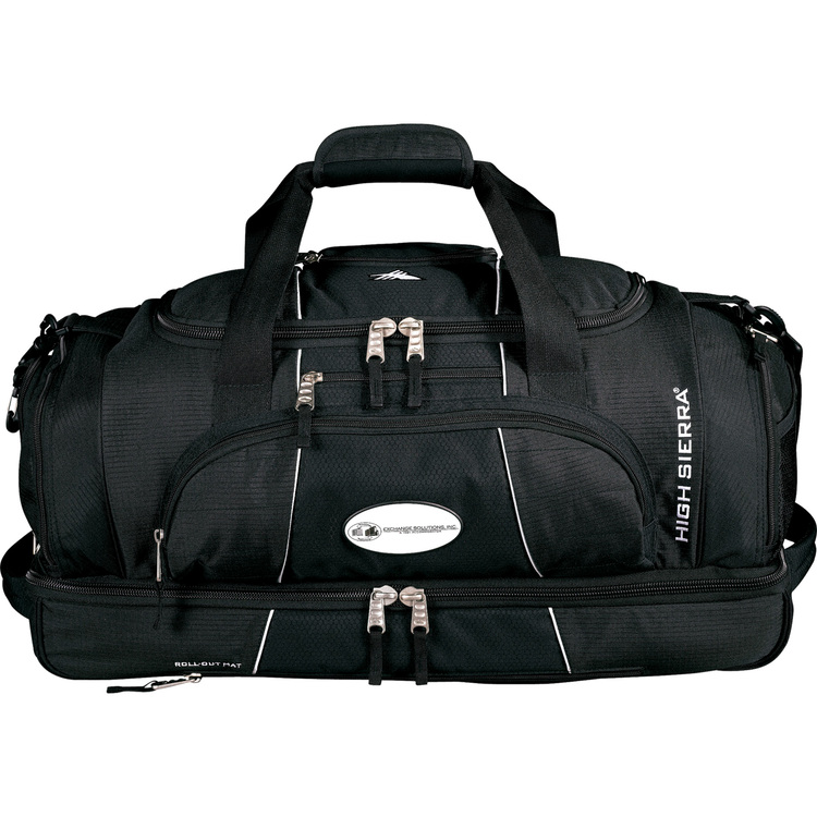High Sierra Colossus 26 Drop Bottom Duffel