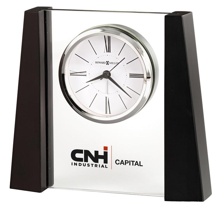 Howard Miller Dixon contemporary tabletop clock