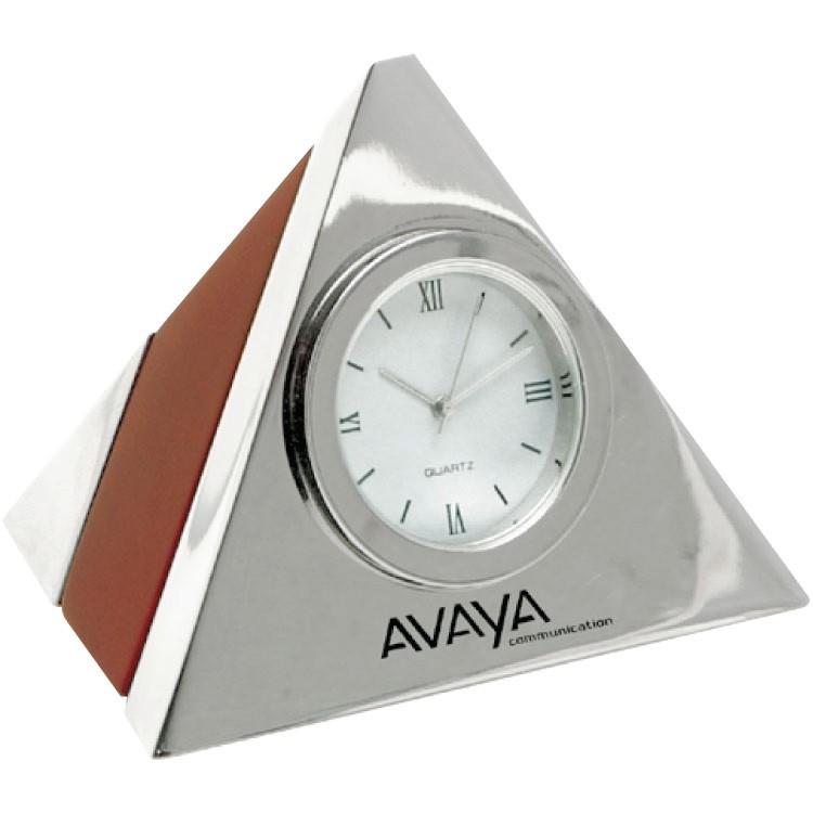 EXECUTIVE PYRAMID CLOCK