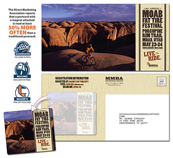 Magna-Peel Postcard (10.5x5.5) with 3.5x4 Magnet