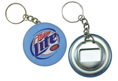 Button w/ Bottle Opener & Key Chain