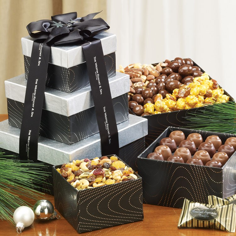Snack n' Share Gift Tower