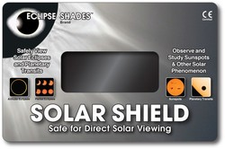 Solar Shield - Safe Solar Eclipse Viewer - Stock