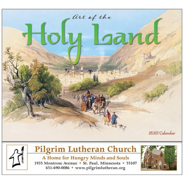 Art of the Holy Land Appointment Calendar, Universal Edition