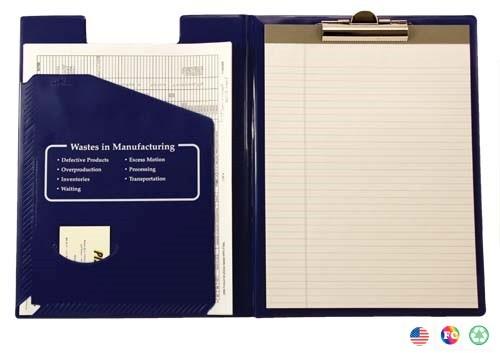 Basics Letter Size Clip Folder / Pad Holder