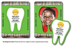 Magnet - Picture Frame Tooth Punch (3.5x4.5) - 20 Mil.