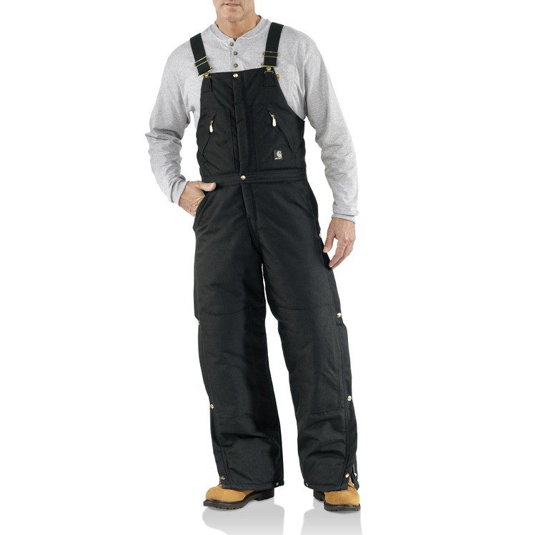 Extremes® Zip-to-Waist Biberall / Arctic-Quilt Lined