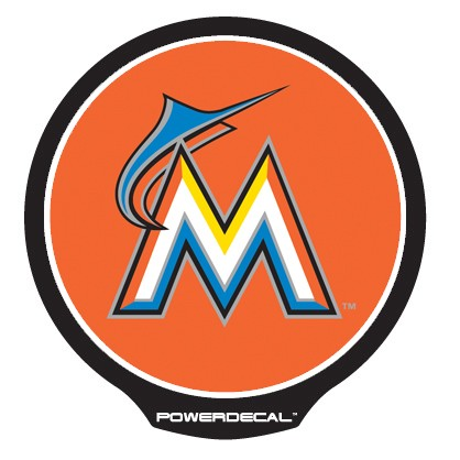 Miami Marlins POWERDECAL